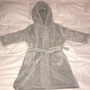 Super Soft Gray Robe
